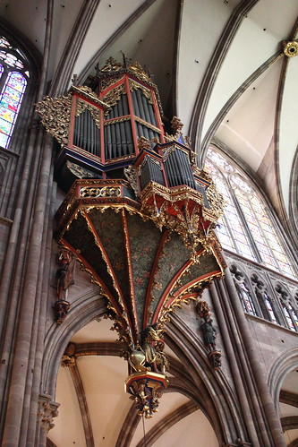 Strasbourg cathedral organs