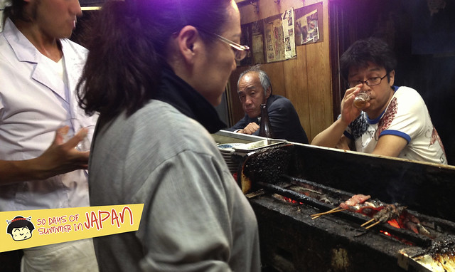 Eel Yakitori in Piss Alley Memory Lane Shinjuku 5