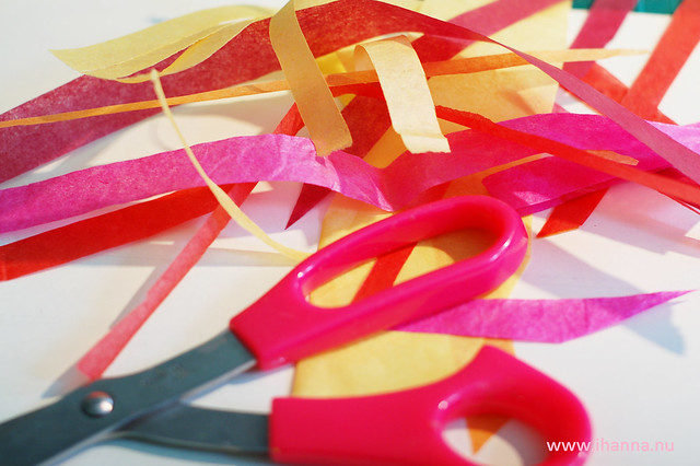 Cut out Tissue Strips
