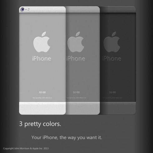 Флагман будет выполнен в 3-х цветовых вариантах