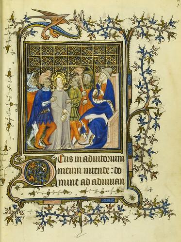 004-Horae Beatae Virginis Mariae…20r- Biblioteca Nacional de Varsovia