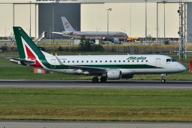 Embraer ERJ-175STD Alitalia Cityliner (CYL) EI-RDJ - MSN 342 - Named Parco Nazionale Del Circeo