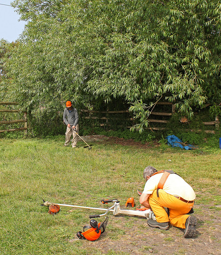 Volunteering Ham Fen Scrub Bashing by Kinzler Pegwell