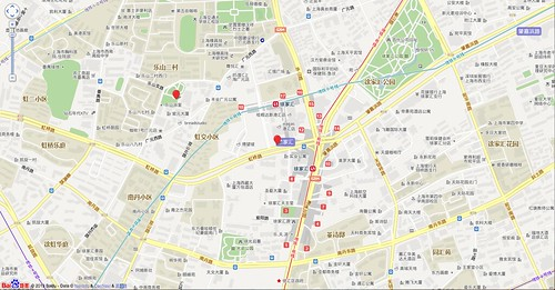 Baidu Maps offset example