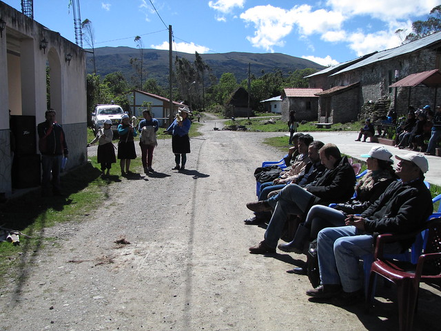 Participantes y paisaje