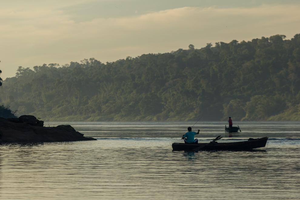 La pesca es una importante actividad en este pequeño pueblo sobre el Río Paraná. (Tetsu Espósito)