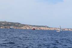 Sailing from Capo d'Orso toward Cala Francese