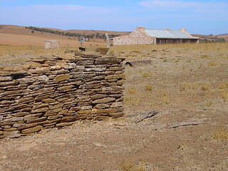 Sir Hubert Wilkins, famed polar explorer's birth house in semi desert South Australia at Mt Bryan East. Restored by Dick Smith and the Australian Geographic Society.