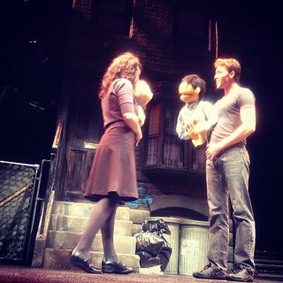 Front row seats for Avenue Q!! #offbroadway #nyc #latergram