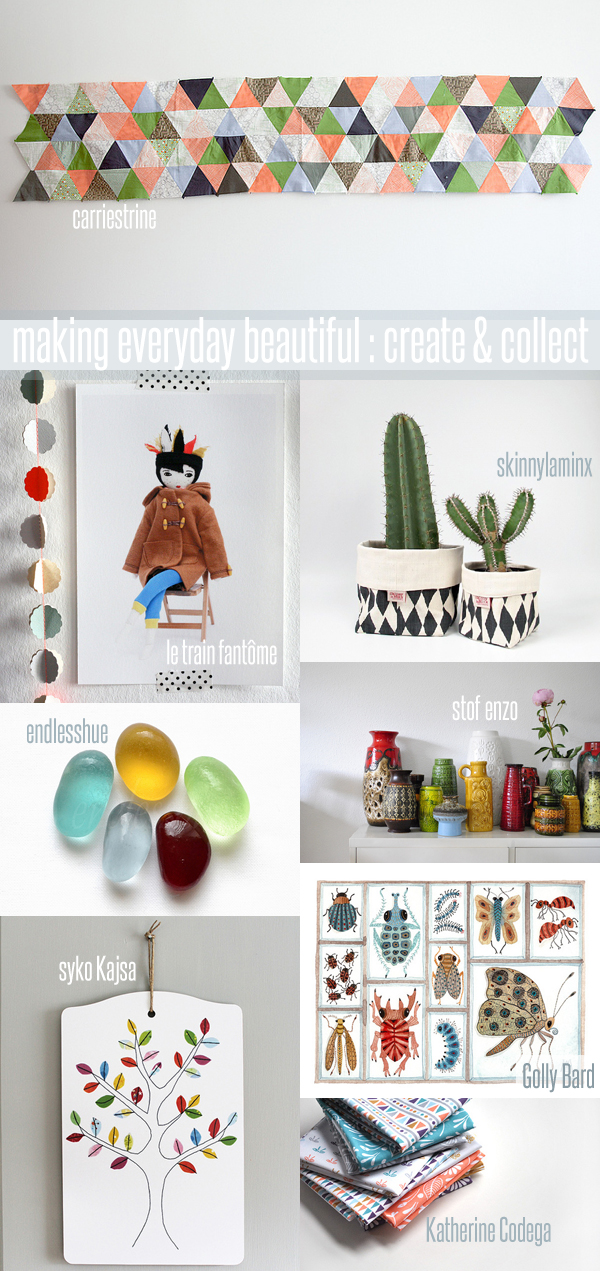 making everyday beautiful : create & collect | Emma Lamb