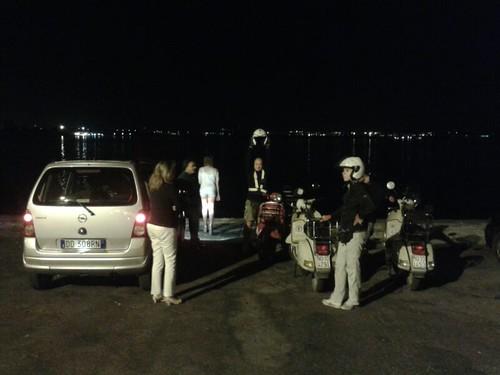 #rotolandoversosud2013 (da #modena)#Taranto by night by manuelongo