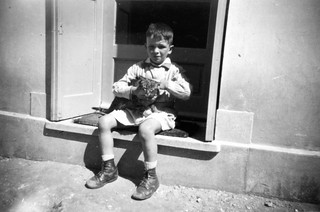 Morocco, Casablanca, 1947, Jean, 6 years old