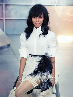 Kerry Washington Flare magazine  Cover and pics