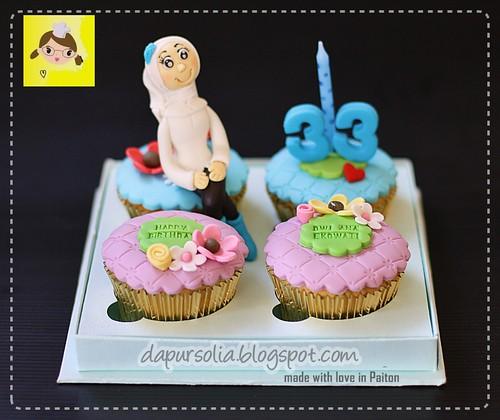 Cupcake Set - Dwi Ana