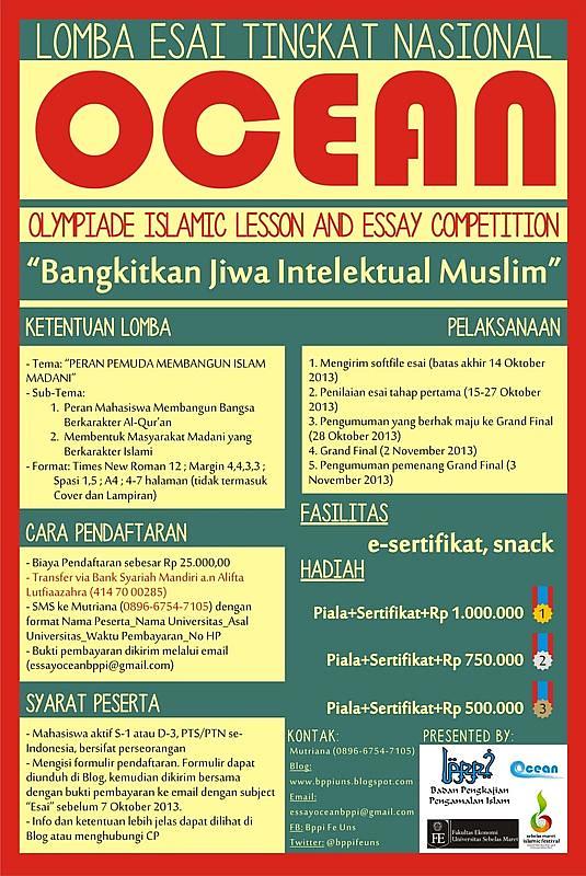 ocean lomba islami
