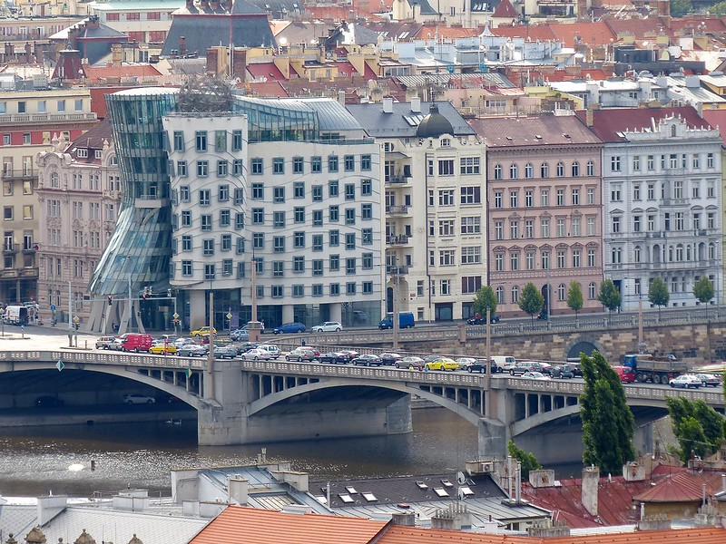 Prague: Dancing House-Fred and Ginger