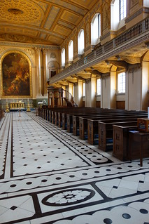 Chapel at Old Royal Naval College, Greenwich
