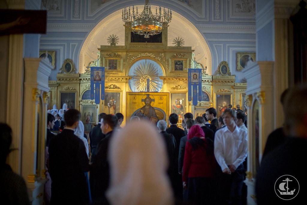 28/29 сентября, Всенощное бдение в Неделю 14-ю по Пятидесятнице, по Воздвижении