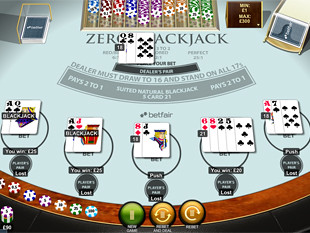 Zero Blackjack Multi Hand