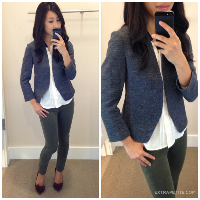 loft tweed jacket