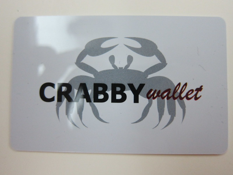Crabby Card - Front