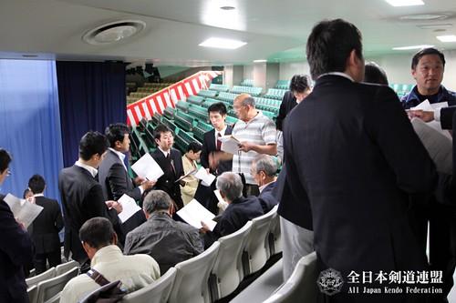 第61回全日本剣道選手権大会 係員打ち合わせ会_004