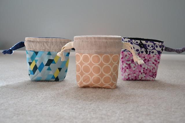 Tiny Drawstring Bags