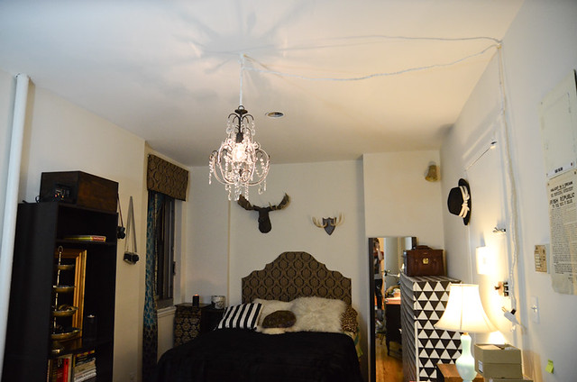 How to hang a chandelier for renters stars for streetlights