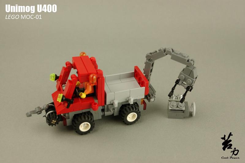 Lego Unimog U400-0010