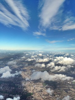 Somewhere over London