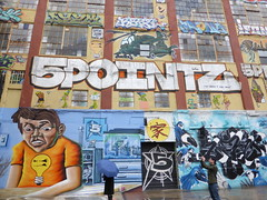 5 Pointz - before & after