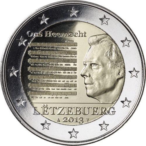 2 Euro Luxemburgsko 2013, hymna