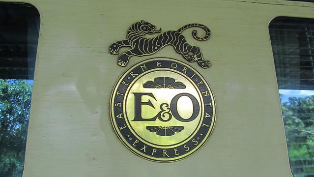 Pak Khwae Thailand  city images : Eastern & Oriental Express Train at Kanchanaburi Railway Station ...