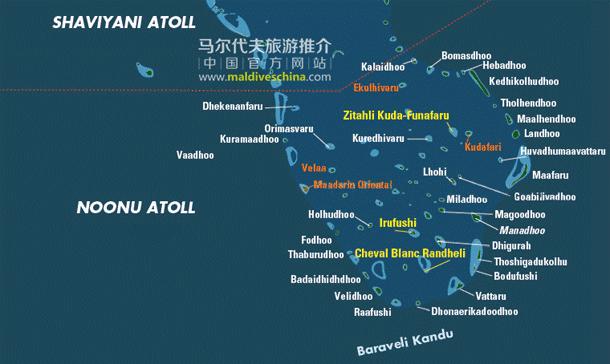 马尔代夫Noonu环礁