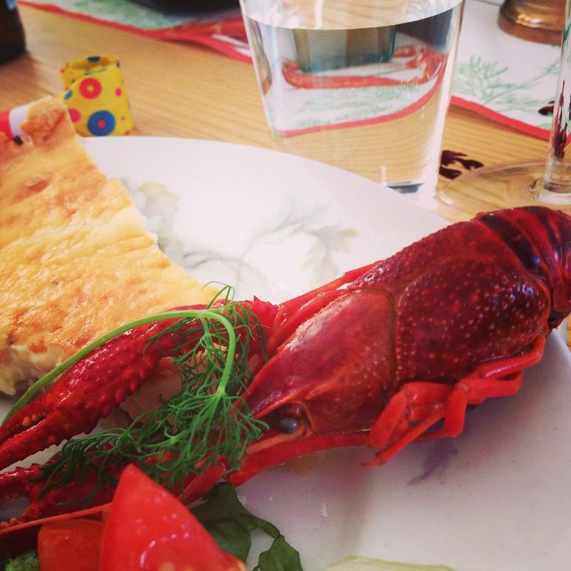 cray fish party, malmö