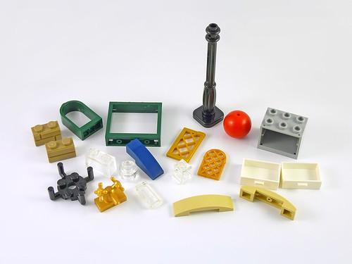 LEGO 10229 Winter Village Cottage elements01