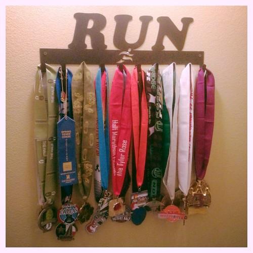 2013 Running Medals