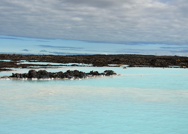 Water from the Blue Lagoon