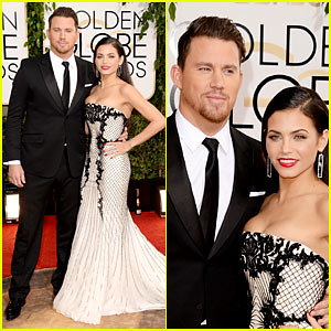 channing-tatum-jenna-dewan-golden-globes-2014-red-carpet