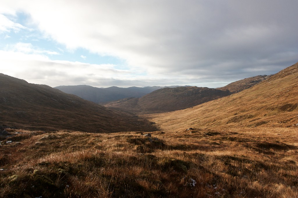 Below Meall an t-Slugain