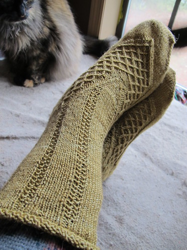 Off the needles: Sugar Feet