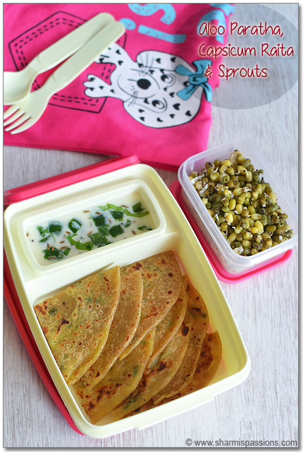 Egg Paratha. Egg Paratha is a healthy, filling and protein-packed lunch box recipe. Scrambled eggs stuffed in the paratha for an easy and healthy lunch. You can serve this egg paratha as it is or simply with pickle or any curries of your choice. Check out the recipe for egg paratha.