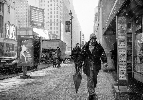 Another snowy day: Winter Storm Maximus