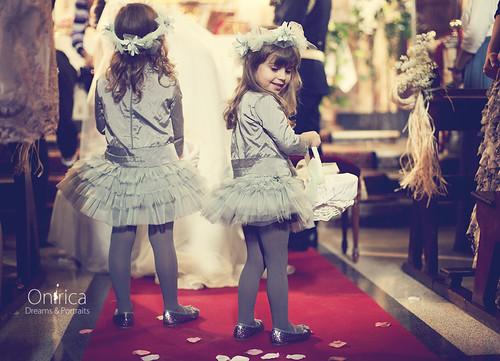 damas y pajes de boda