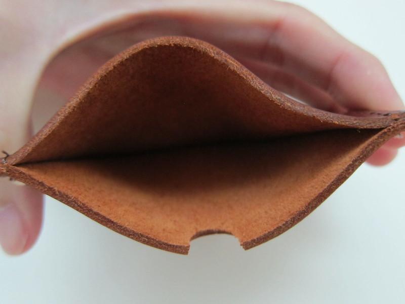 Simple Wallet - Leather Inside
