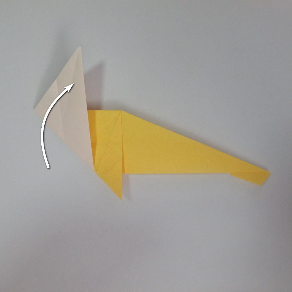 สอนวิธีพับกระดาษเป็นรูปลูกสุนัขยืนสองขา แบบของพอล ฟราสโก้ (Down Boy Dog Origami) 048