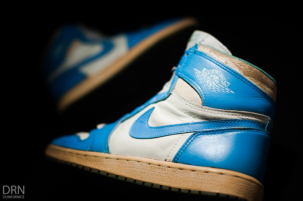 1985 Carolina Blue/White I's.