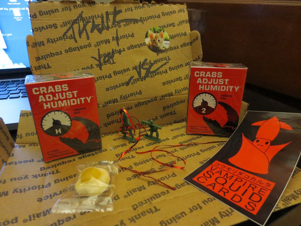 Crabs Adjust Humidity - Mailing Package