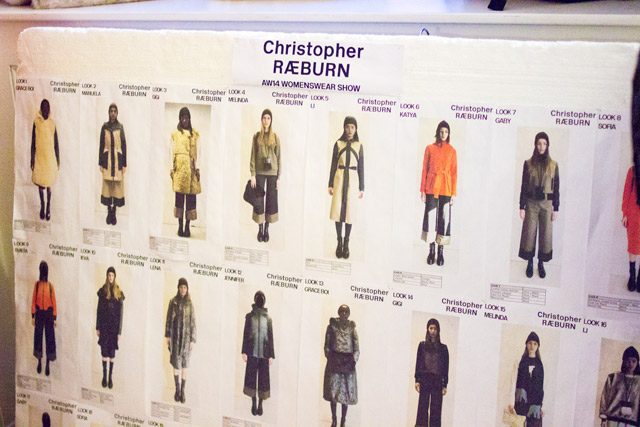 Christopher Raeburn AW14 line up London Fashion Week
