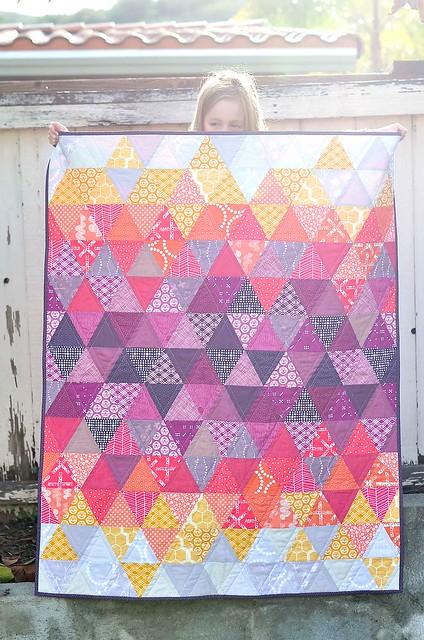 Sundown - 2014 Pantone Quilt Challenge